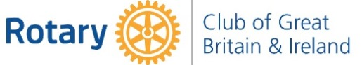 Rotary Club of Great Britain & Ireland Logo